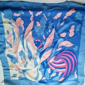 GRES Paris - Beautiful 100% silk square scarf